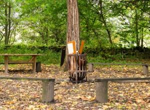 Campfire at Thornbridge Outdoors