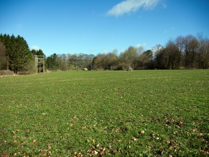 Secondary playing field at Thornbridge Outdoors