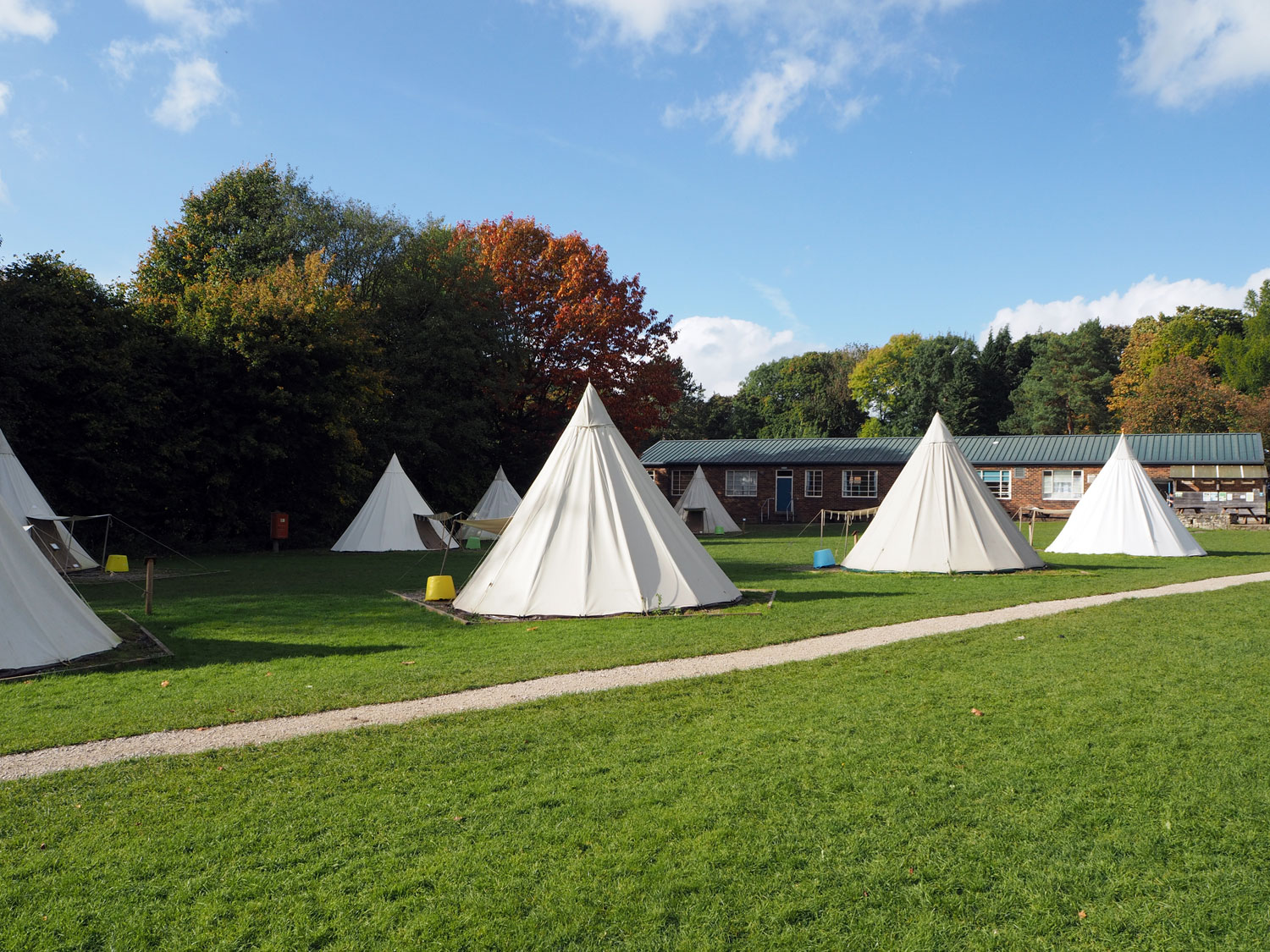 The teepee village