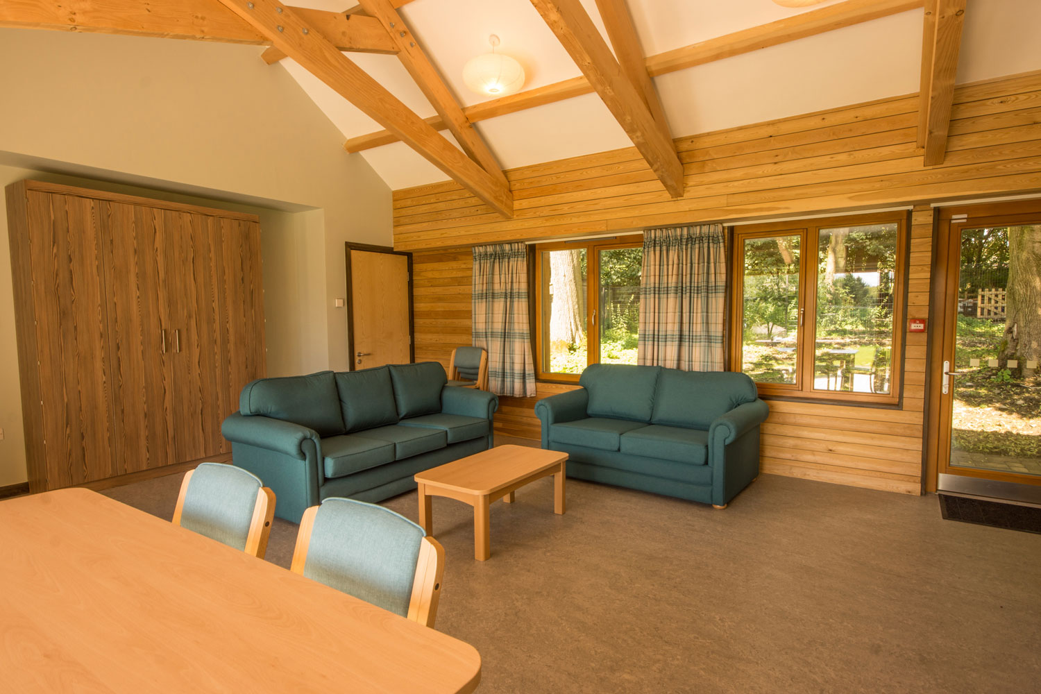 Thornbridge Outdoors, Woodlands, Lounge and Dining Room