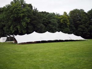 Event/Wedding marquee at Thornbridge Outdoors
