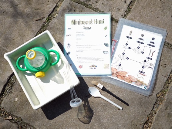 Mini beast hunt equipment (environmental activity)