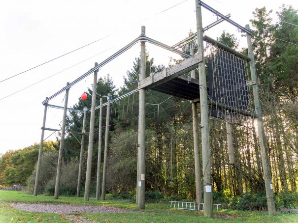 The Sky Ropes (High Ropes) at Thornbridge Outdoors