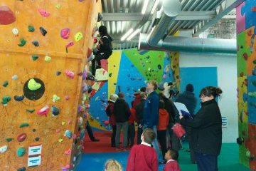 Sheffield Schools Bouldering Competition