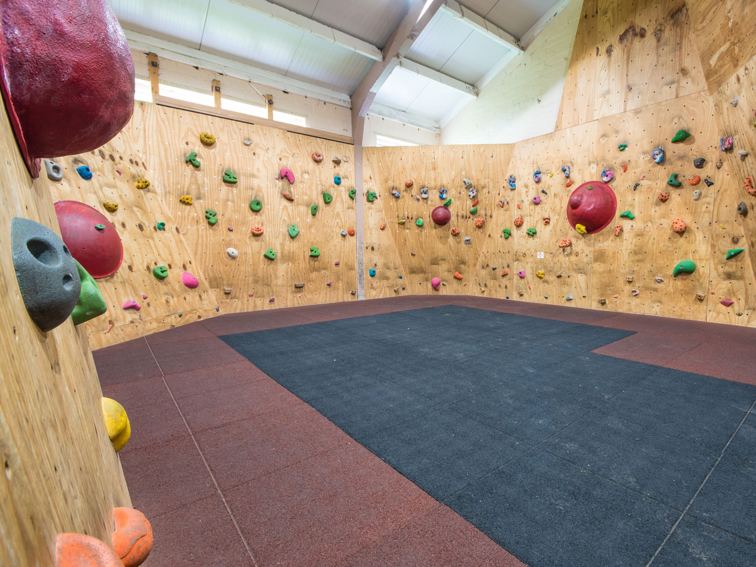 Bouldering Wall at Thornbridge Outdoors
